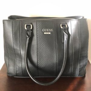 Guess brand large leather satchel